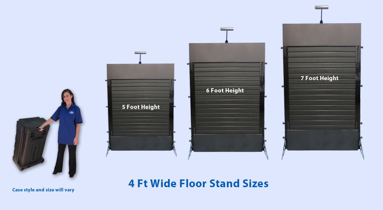 create your own floor stand