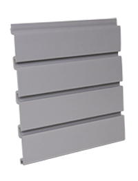 gray Slat wall PVC panels