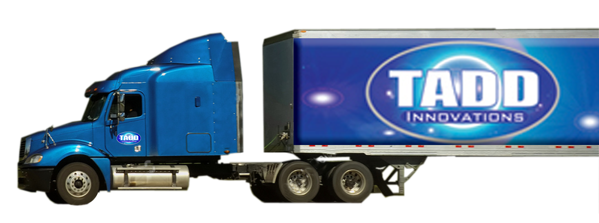 trucking services Tadd Innovations Trade show booths