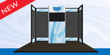 slat wall trade show display
