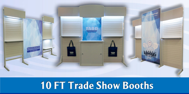 10 ft Trade Show diplays