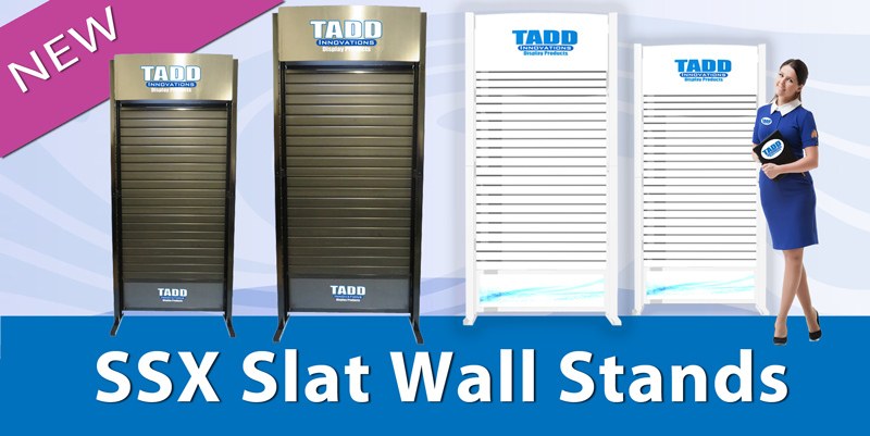 SSX slat wall stand super strong trade show stands