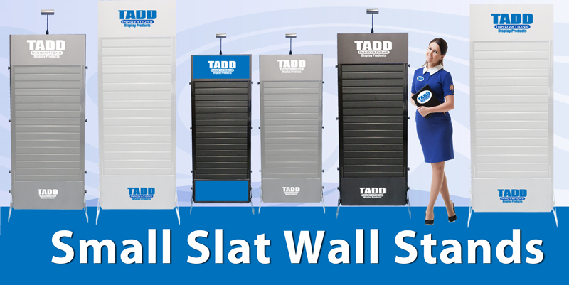 slat wall stand for trade shows