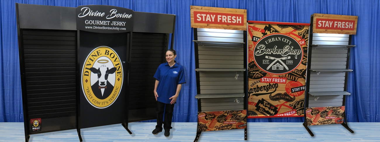 Many great low cost Trade Show booths to choose