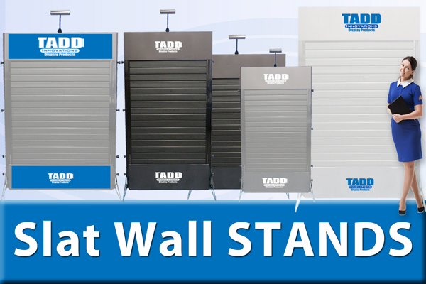 slat wall stands for trade shows